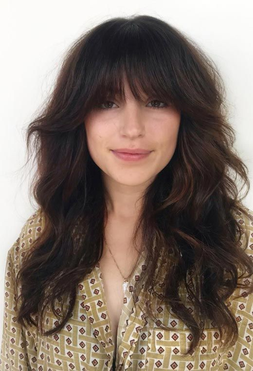 32++ Low maintenance shaggy haircut with bangs trends