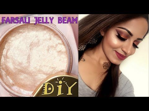 13 Diy Farsali Jelly Beam Highlighter Diy Cream Highlighter Deepti Ghai Sharma Youtube Jelly Beam Diy Highlighter Makeup Diy Cream