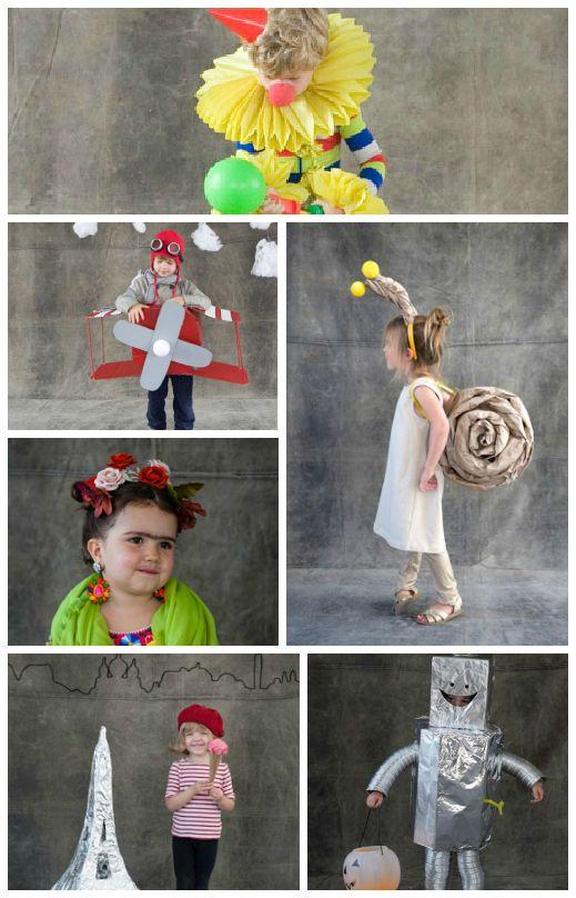 DIY Kid\u0027s Halloween costumes from Oh Happy Day Halloween