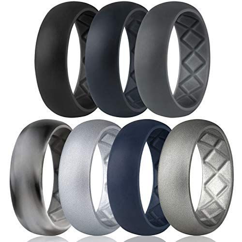 Top 10 Mens Silicone Wedding Rings Of 2020 No Place Called Home In 2020 Mens Rubber Wedding Bands Rubber Wedding Band Silicone Wedding Band Mens