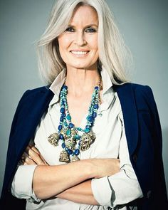 medium length white hair - Google Search .... would love to look like this when im older!