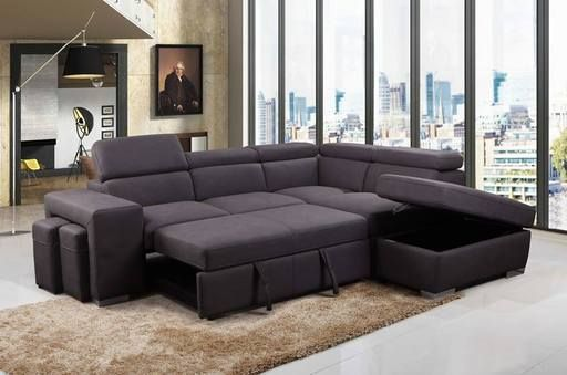 Sectional Sofas At Bc Canada In 2020 Sectional Sleeper Sofa Sofa Bed With Storage Storage Ottoman