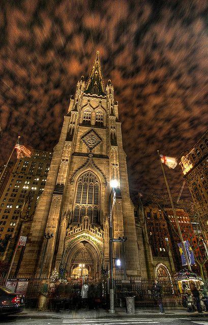 Trinity Church, New York by Raf Ferreira, via Flickr