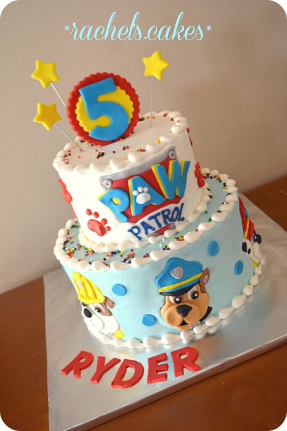 Paw Patrol Cake: