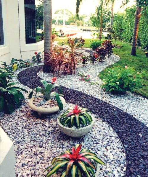 50 Best Minimalist Garden Design Ideas Images Backyard Garden Landscape Tropical Landscaping Florida Landscaping