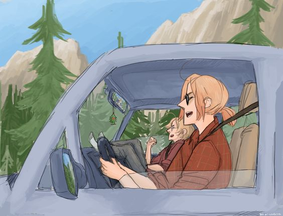 I'M ON THE HIIIIIGHHWAY TO HELL<<<I just love these two chillin