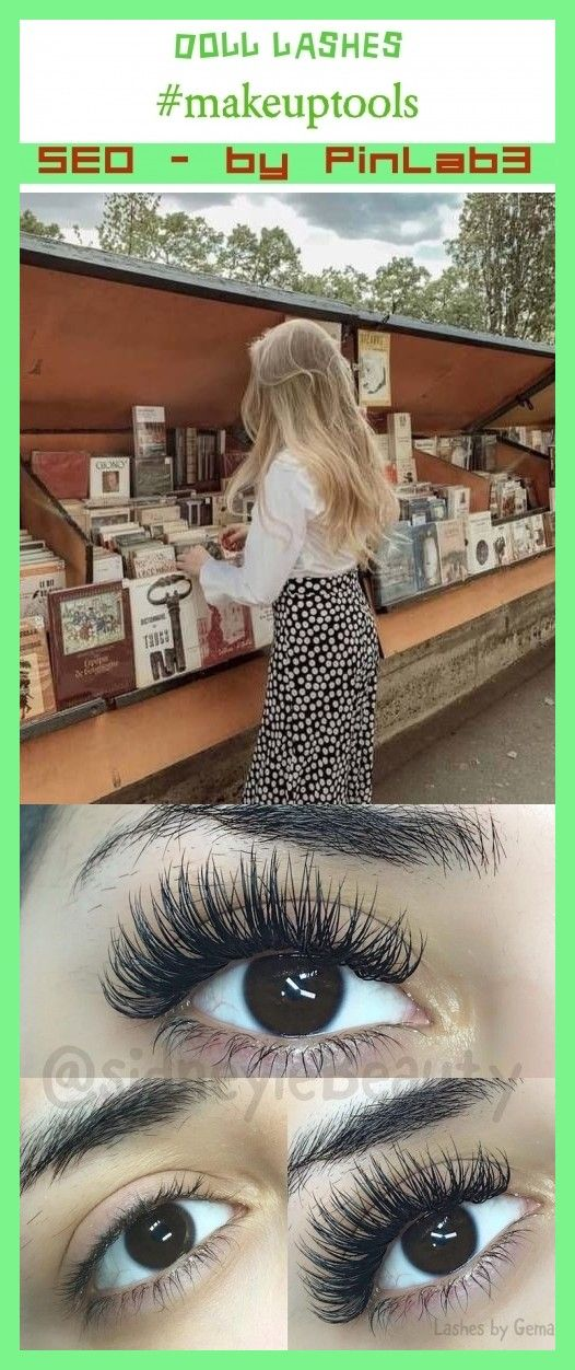 Doll Lashes Lashes Puppenwimpern Poupee Puppenwimpern Cils De Poupee Pestanas De Muneca Lashes Makeup Artist Kit Lashes Logo Makeup Tools Products