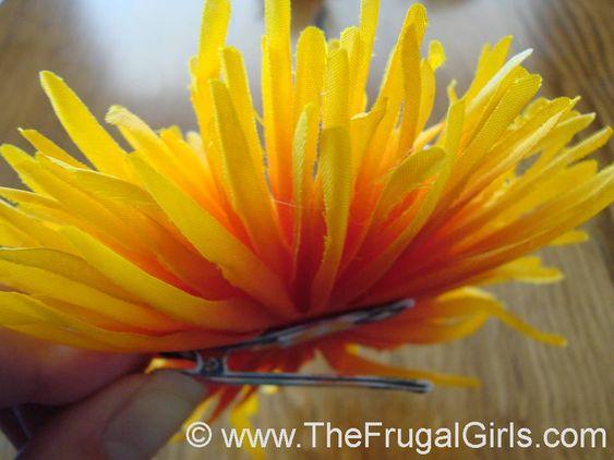Headband Flower Clips For Girls