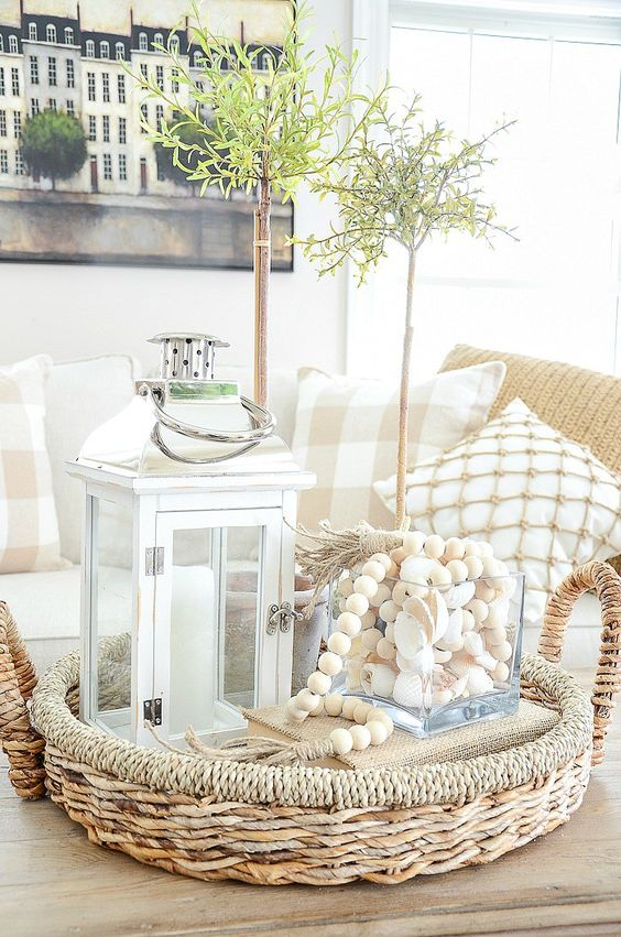 Modest Spring Home Decor