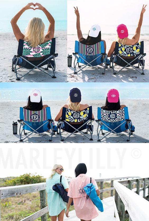 Monogrammed Beach Chair Beach Monogram Beach Chairs Beach