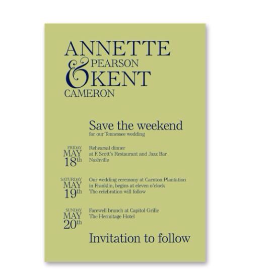 Family reunion all in one invite, save the date, \ schedule of - family reunion flyer