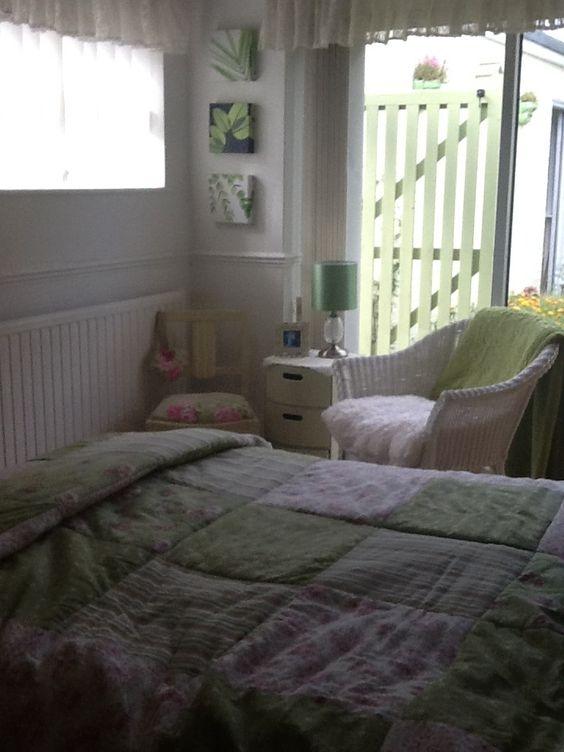 Pretty bed cover