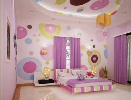 kid bedroom..... Might do this in Jacey's room when she gets a little bit older.