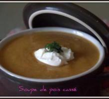Recette - Soupe de pois cassés facile - Proposée par 750 grammes