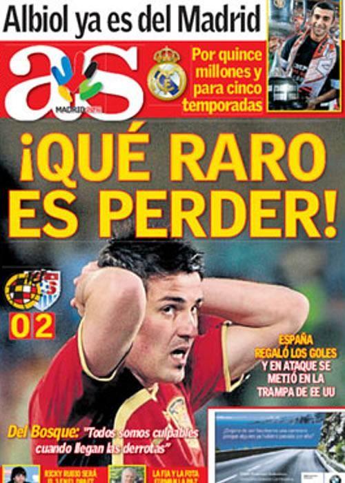 Portada del Diario AS del día de hoy.: Football, Baloncesto Fórmula, Daily, Sports, Ciclismo Tenis, Motociclismo Rallies