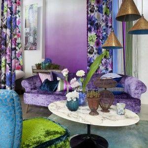 Designers guild Pavonia fabrics: