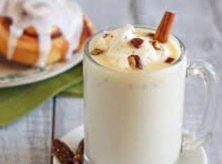 Cinnamon Bun White Hot Chocolate