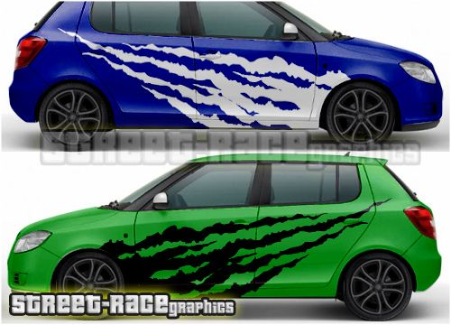 Skoda Fabia Racing Rally Graphics From Www Street Race Org