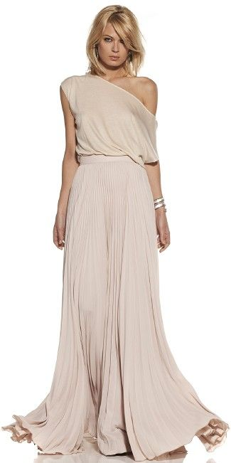 Lissane pleated Skirt by Alexis