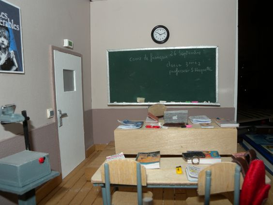 Vitrine miniature# la classe