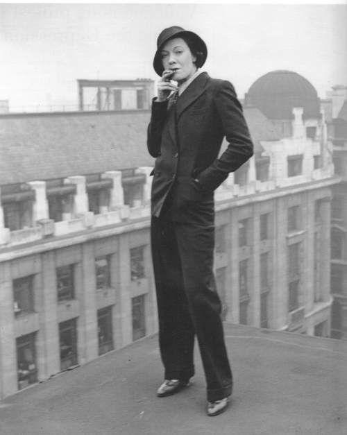 1920s Ladies Pant Suits
