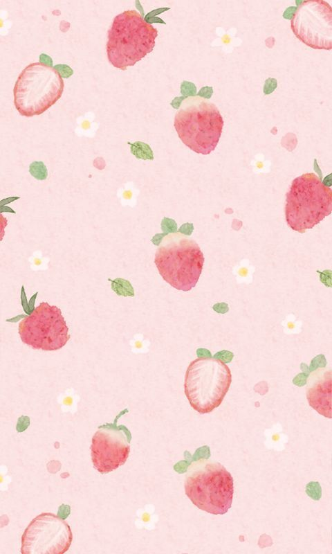 Cute Wallpaper Lockscreens Cute Strawberry Cute Strawberries Strawberry Wallpaper Lovely Fruit Wallpaper New Wallpaper Iphone Wallpaper Iphone Cute Beautiful kawaii strawberry wallpaper