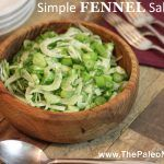 Cucumber AIP salad