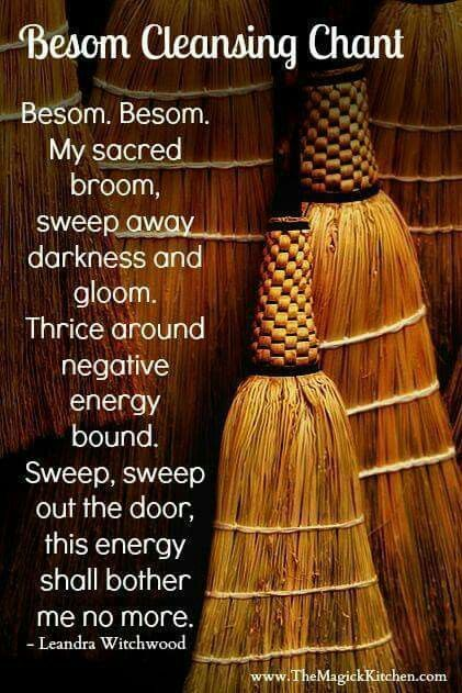 Besom cleansing chant