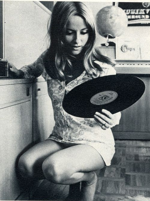 Records. Frauen und Schallplatten