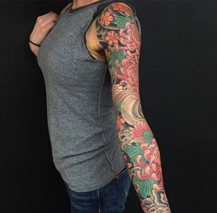 43 Best Ideas For Tattoo Sleeve Vrouw Kleur Sleeve Tattoos For Women Arm Sleeve Tattoos Sleeve Tattoos