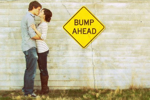 announce pregnancy pictures | bump ahead pregnancy announcement