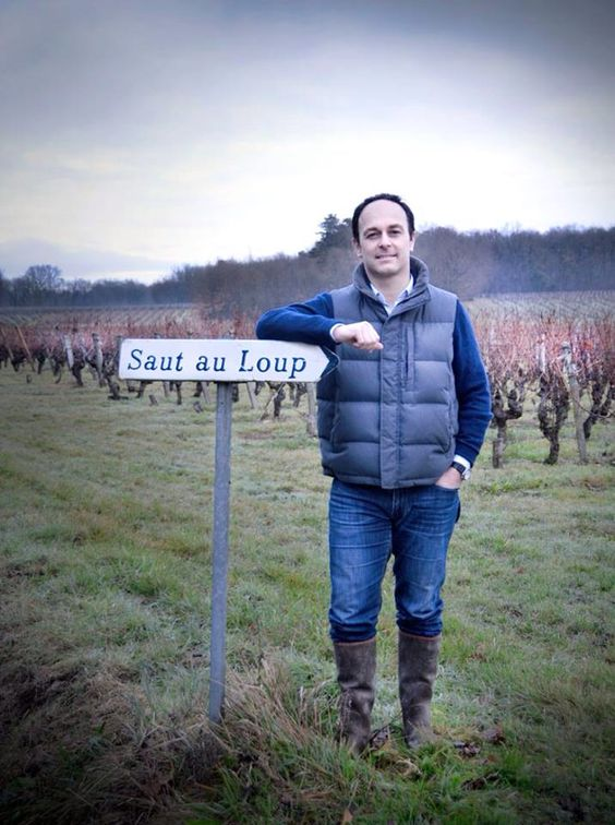 Éric Santier à son arrivée au Domaine Dozon, automne 2013