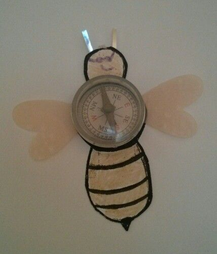 Steampunk bee crafts for kids will help us kick off family programming July 6-12, 2014.