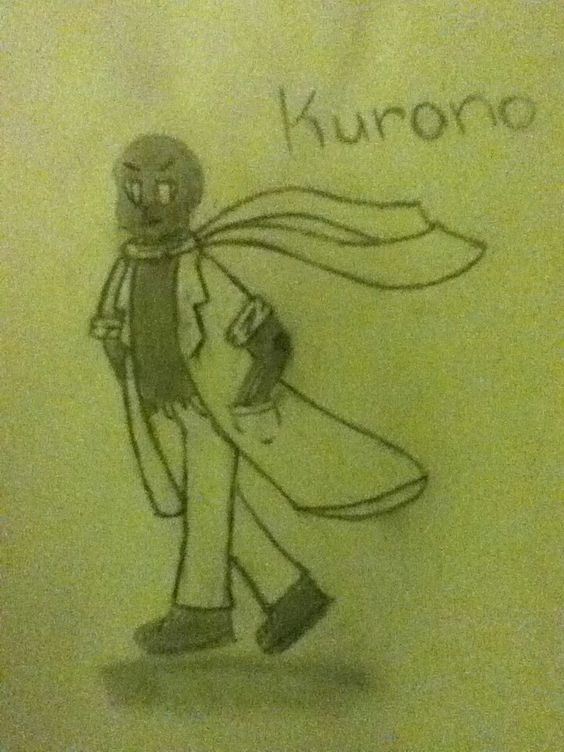 Kurono the other half of Hikari and lives in the void with him.