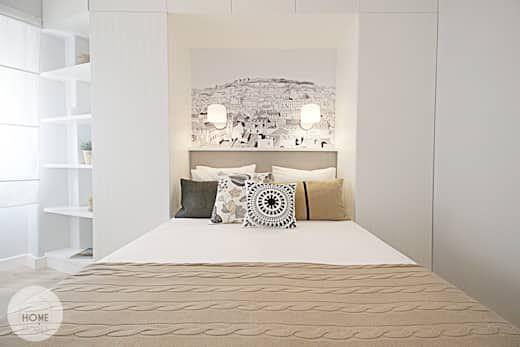 20 Dormitorios Maravillosos De Menos De 6 Metros Cuadrados Homify Decoracion De Paredes Dormitorio Dormitorios Remodelación De Dormitorio