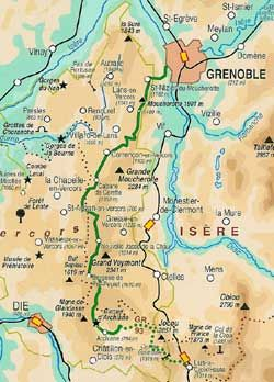 La Traversée du Vercors de Grenoble à Lus la Croix Haute (10àkm, 5 jours)