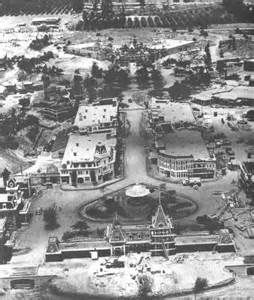 ... to start somewhere...the castle at Disneyland under construction