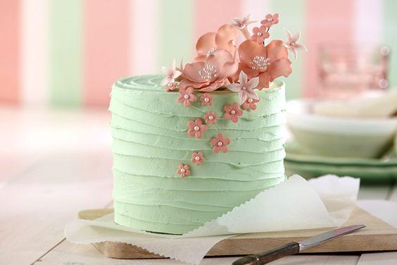 Stiff Cake Decorating Frosting Recipe : Cakes on Pinterest