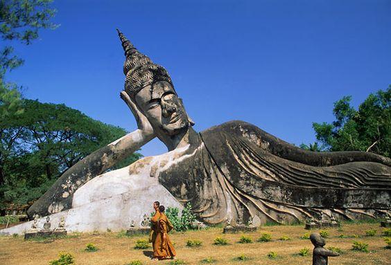 Garden of the Buddhas, Laos