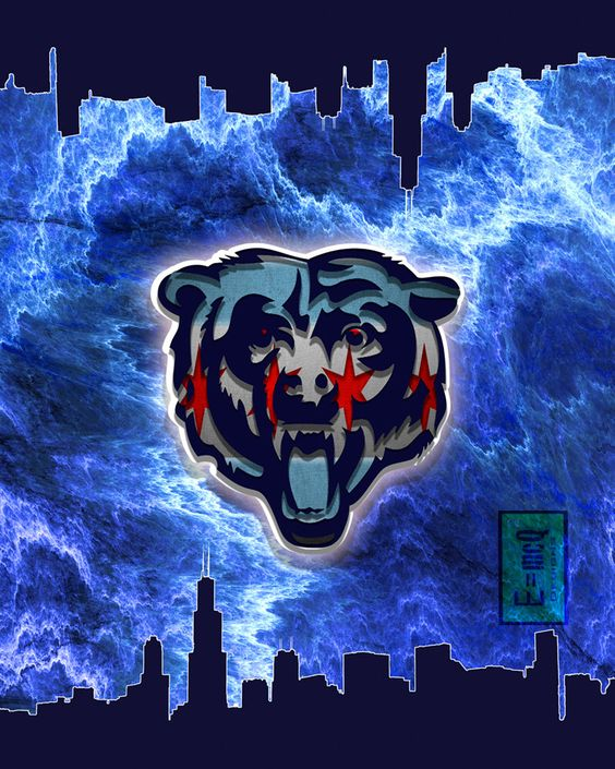 A personal favorite from my Etsy shop https://www.etsy.com/listing/259828151/chicago-bears-chicago-flag-chicago-flag