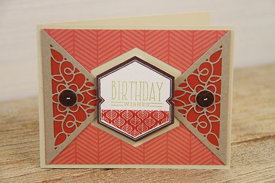 Birthday Wishes Card by Erin Lincoln for Papertrey Ink (November 2014)