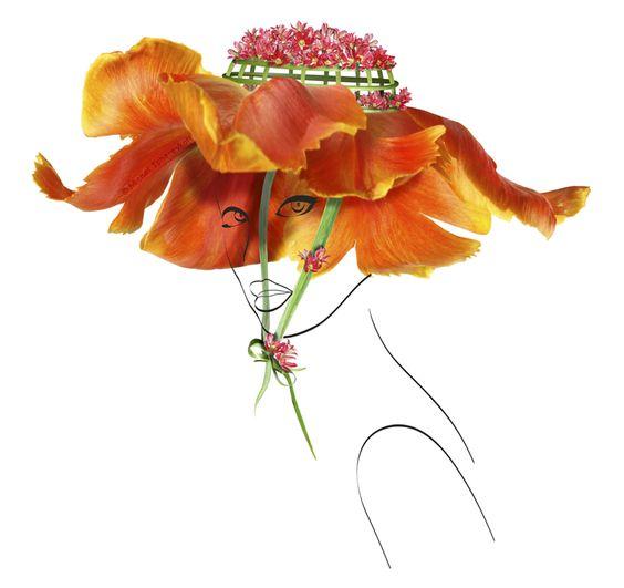 """Chapeau de Fleur"" -Michel Tcherevkoff"