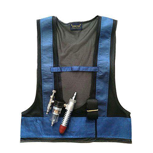 Vortex Tube Cooling Vest With Aluminum Alloy Connector Https Www Amazon Com Dp B07fybflf9 Ref Cm Sw R Pi Dp U X G Cooling Vest Protective Clothing Vest