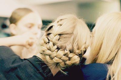 I love braided hair... Unfortunately, my hair isn't long enough.
