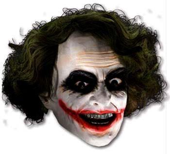 Joker Batman Maske - Für alle Marvel Fans ist die Joker Maske aus dem Film Batman ein Muss! #masken #mask #carnival #karneval