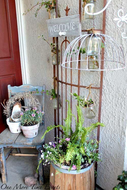 50 Pretty Spring Porch Decor Ideas To Celebrate The Season Spring Porch Decor Front Porch Decorating Spring Porch