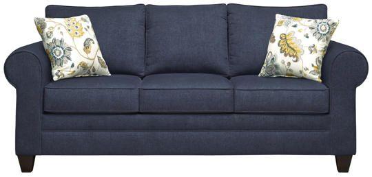 Saxon Navy Sofa Art Van Furniture Sofa