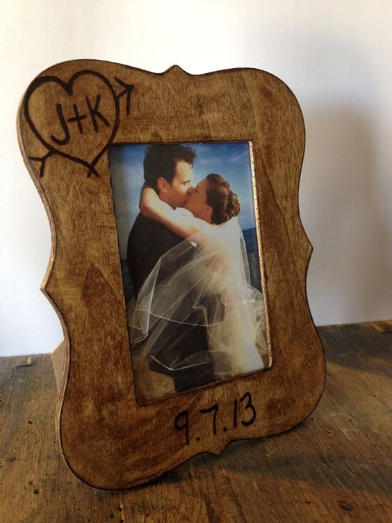 5th wedding anniversary gift personalized 4x6 by for 5th wedding anniversary gift