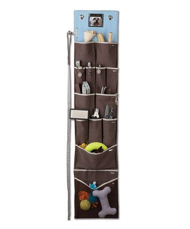 Hanging organizer for pet stuff!