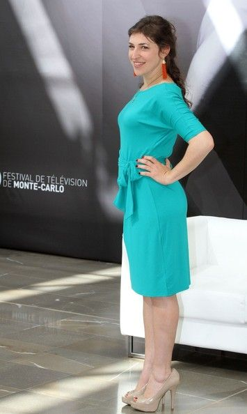 Mayim Bialik Photos: Celebs at the 52nd Monte Carlo TV Fest